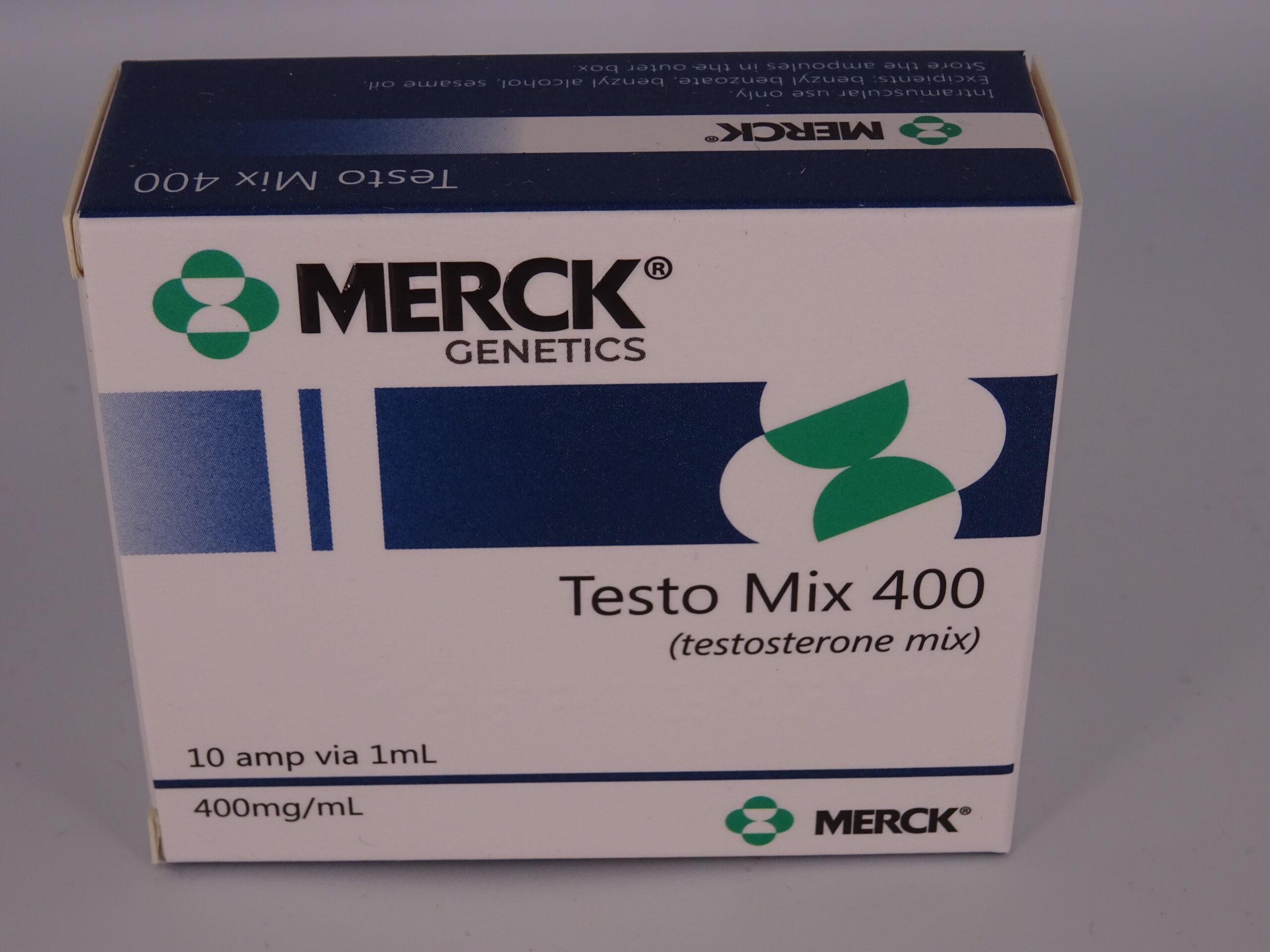 TESTO MIX 400mg 10amp