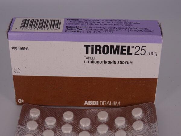 Tiromel  T3 25mcg 25tab