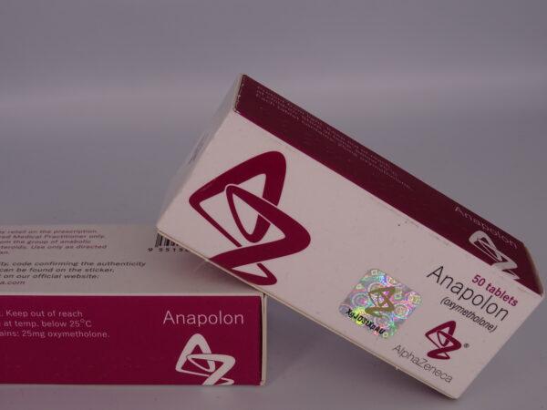 Anapolon Alpha Zeneca 25mg 100tab